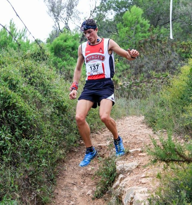 Mikel Besora, va guanyar la 9a Pujada al Montsià